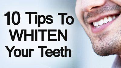 10 Ways To Whiten Your Teeth Video | Teeth Whitening Video. >