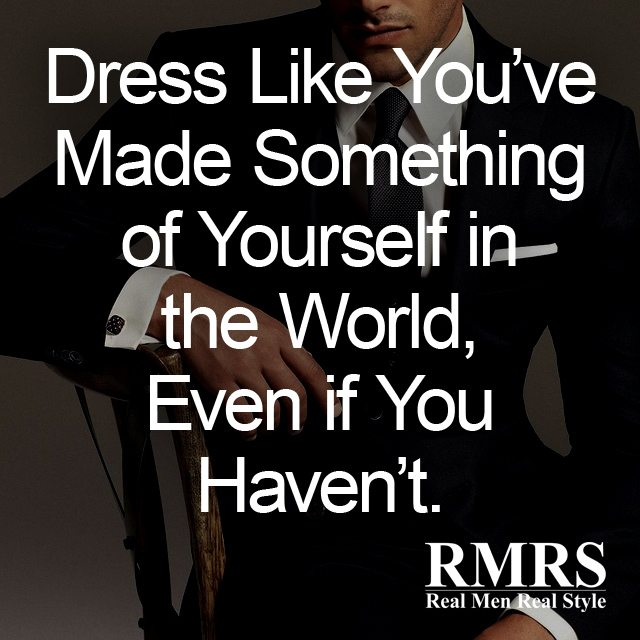 The Best Quotes About Men\'s Style | Famous Men\'s Fashion ...