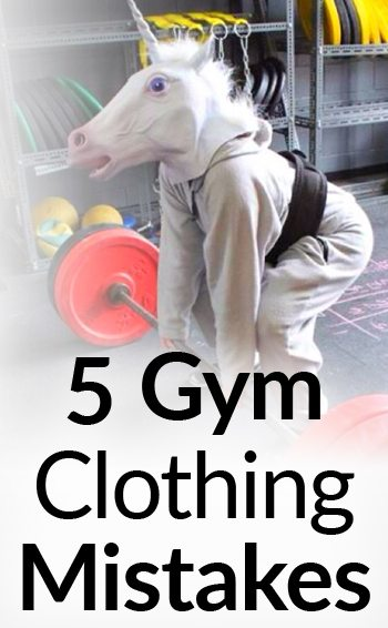 5 Common Gym Clothing Mistakes Men Are Making Quit