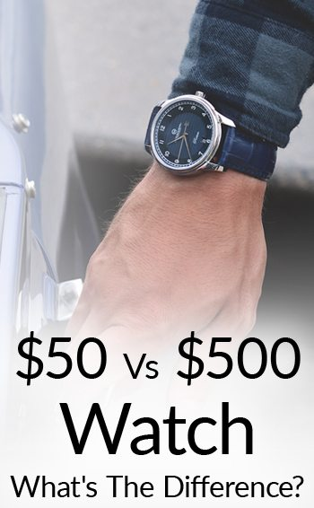 Difference Between 50 500 Watches Watch Craftsmanship Movement