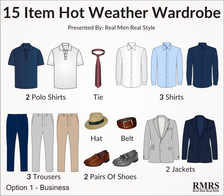 15 Items That Make a Complete Summer Wardrobe
