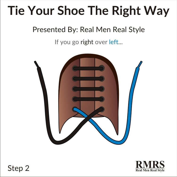 How to tie your shoes the right way one simple trick to tying v2 2 ccuart Gallery