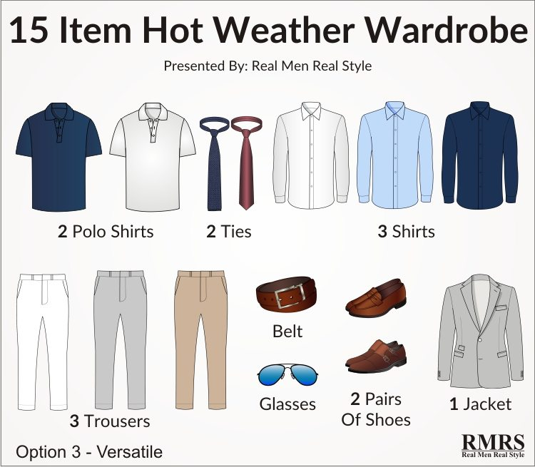 3904226fbc9 15 Items That Make a Complete Summer Wardrobe