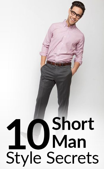 2b4edbd6 10 Short Man Style Secrets | How To Look Taller | Stylish Tips To Dress  Shorter Men