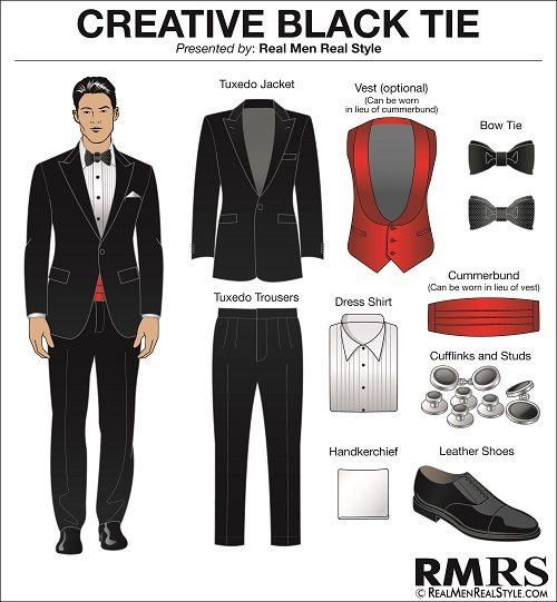 Black Tie Optional Brown Shoes