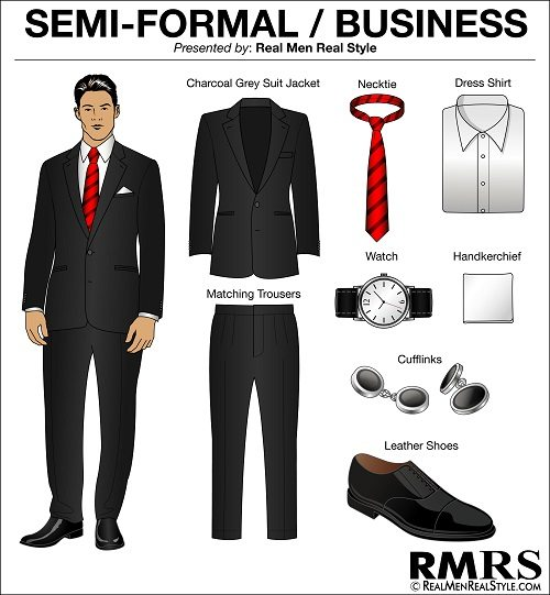 Men s Dress Code Guide  9a00c4f78