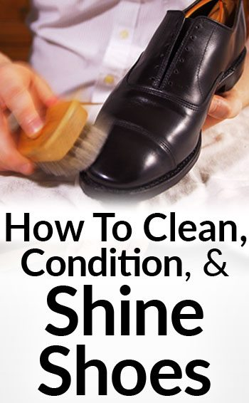 Clean Condition Polish A Dress Shoe Spit Shining Formal Footwear Shine Shoes Like Marine