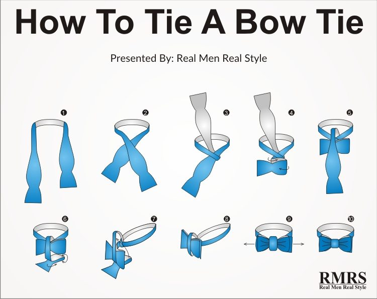 How To Tie A Bow Tie Knot Tying Bow Tie Knots In 10 Steps 2018