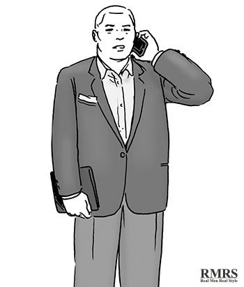 how to men wear suit when overweight