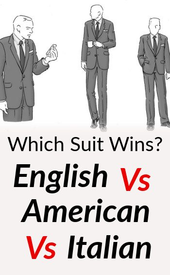 difference between british italian amp american suits