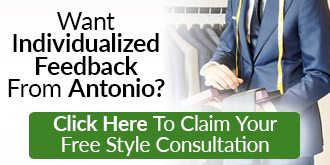 Free style consultation with Antonio
