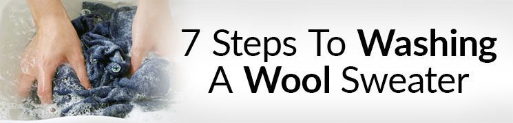 How To Wash Wool Sweaters in 7 Steps | The Right Way To Wash A Sweater