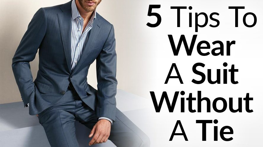 How To Go Tieless With A Suit? Wearing a Sports Jacket ...