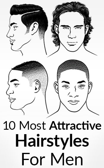 Brilliant 10 Most Attractive Men39S Hairstyles Best Haircuts For Men 2017 Short Hairstyles Gunalazisus
