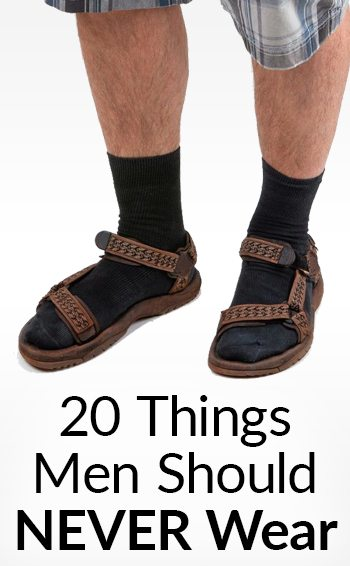 f06eb50e6717 20 Things Men Should NEVER Wear