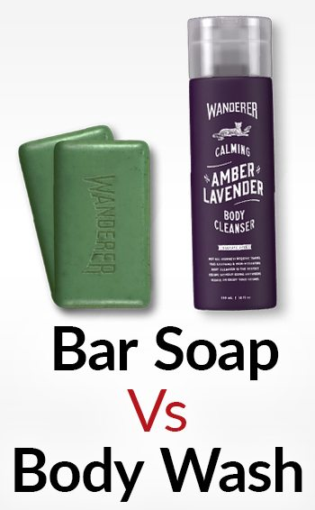 Which is better for men soap or body wash truth about for Best soap to wash tattoo
