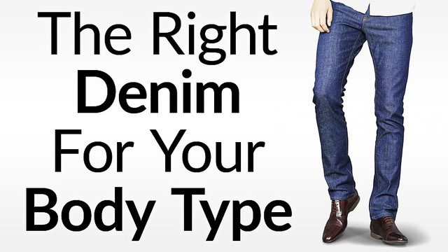 Best Jeans For Body Type | What Denim Fits A Man
