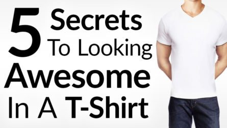 829f606bf98 This post is based on the video – 5 Secrets To Look Stylish In A T-Shirt