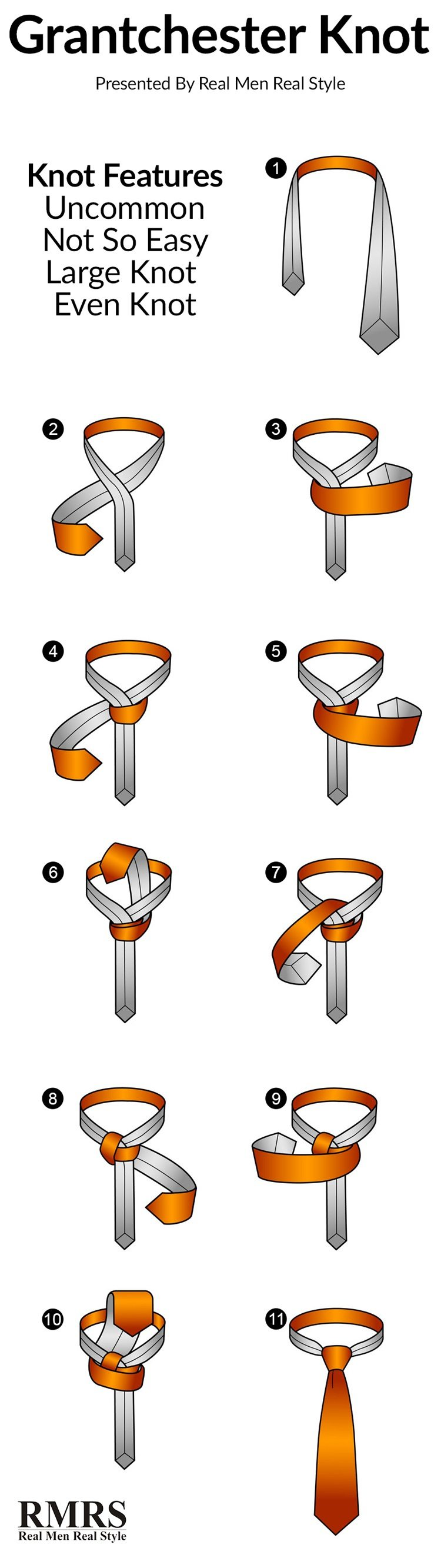 10 unusual ways to tie a necktie best tie knots every man should although the final result is slightly shorter and its almost got the same asymmetrical shape as a four in hand use a thinner tie for this one ccuart Gallery