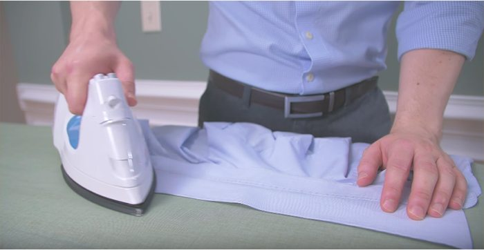 how to iron a work shirt