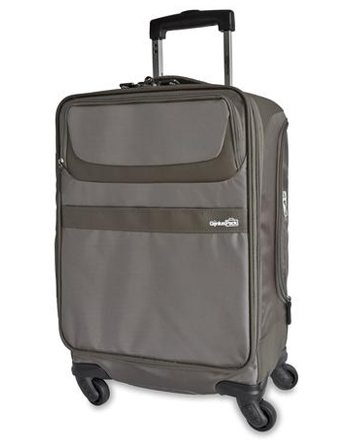 Genius Pack luggage carry on spinner