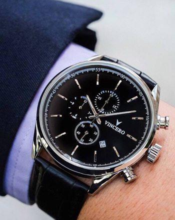 Vincero chronograph watch