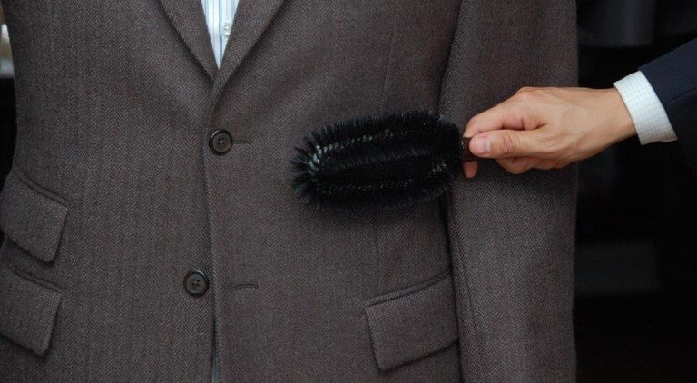 dbf8894c99c6 6 Steps To Properly Brush Your Suit