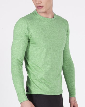 Strong Body Runners Choice long sleeve green