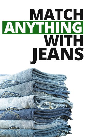 How To Match Jeans With Anything | Style Denim With