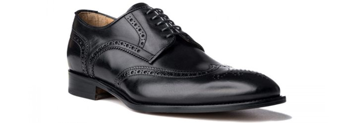 ace marks wingtips black shoes