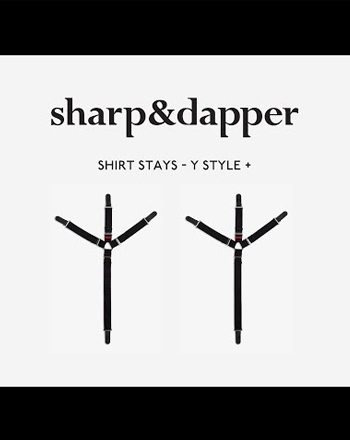 sharp dapper shirt stays