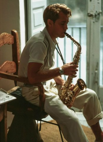 Image result for dickie greenleaf with sax