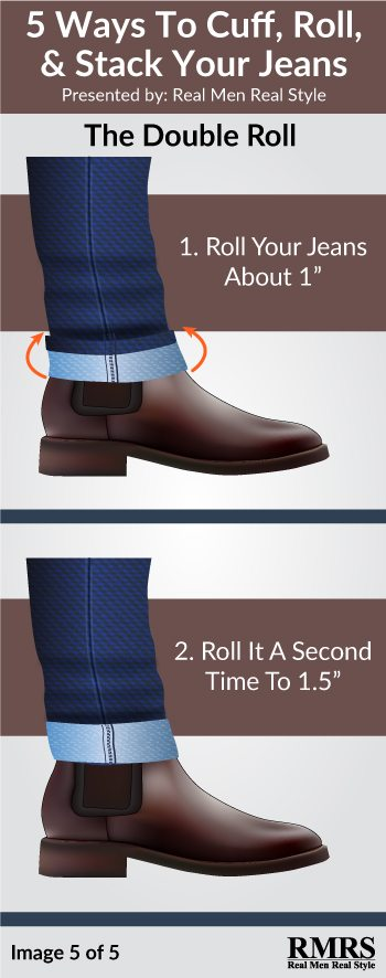 Stacking vs Cuffing vs Rolling Your Jeans | The Right Way To Wear ...