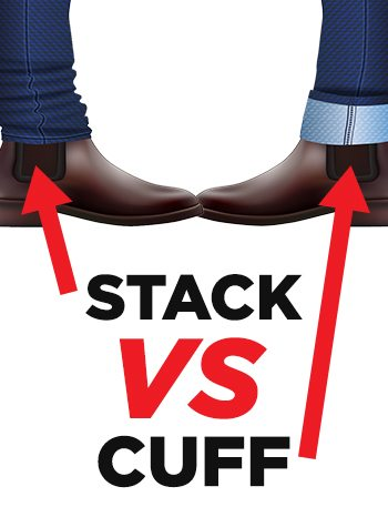 4953f8dcb Stacking vs Cuffing vs Rolling Your Jeans