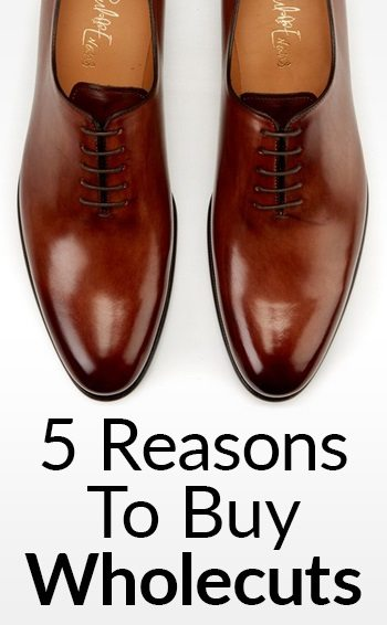 Wholecut Dress Shoes