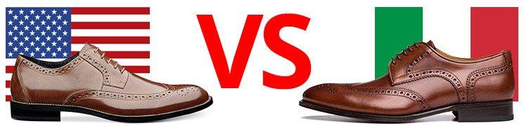 italian vs amercian made shoes