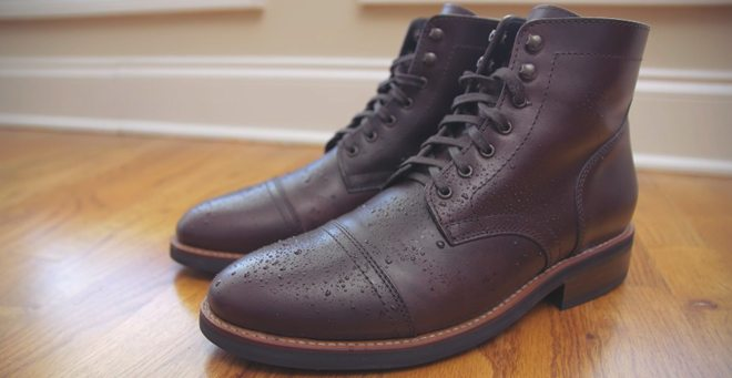 leather-boot-care-wet-air-dry