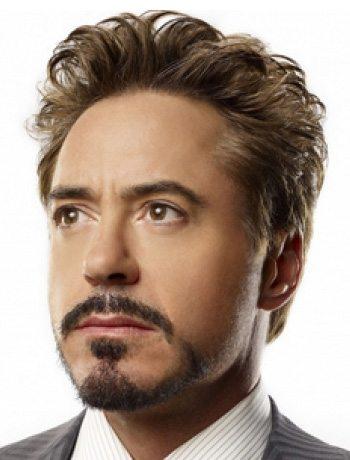 showdown Tony Stark style hair