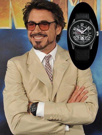 showdown Tony Stark style modern watch
