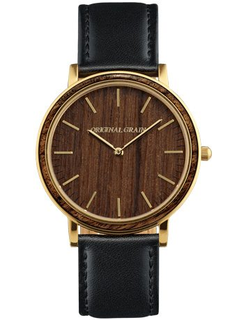 Original-Grain-brown-gold-watch