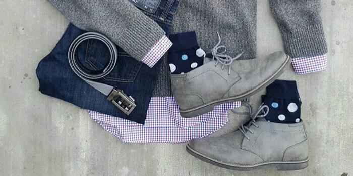 anson belt gray shoes