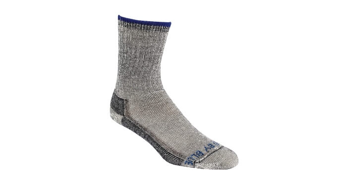 united blue trail socks