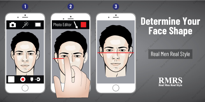 What Is My Face Shape? – How To Find Your Face Shape – Men's Faces