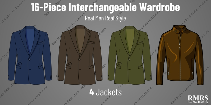 interchangeable wardrobe - jackets