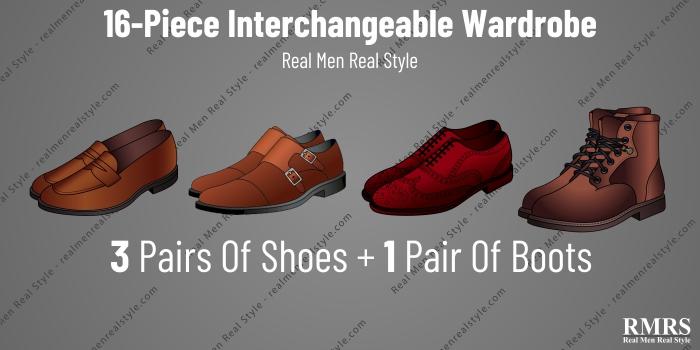 interchangeable wardrobe shoes