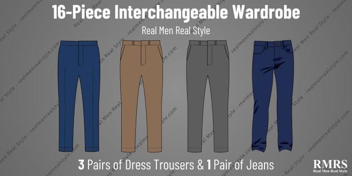 interchangeable wardrobe - trousers