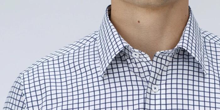 Generic Mens Epaulette Long Sleeve Dress Shirt Casual Club Button Down Shirt