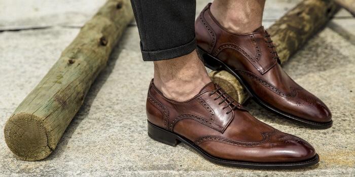 Blucher shoe brown