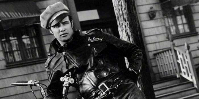 leather jacket Marlon Brando
