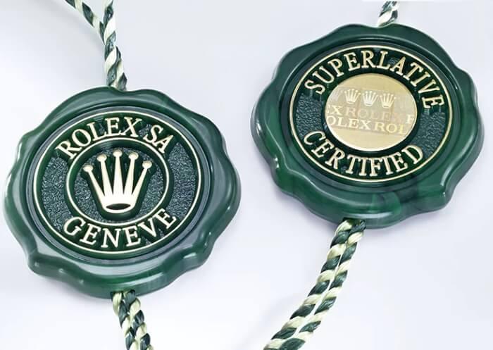 rolex green tags
